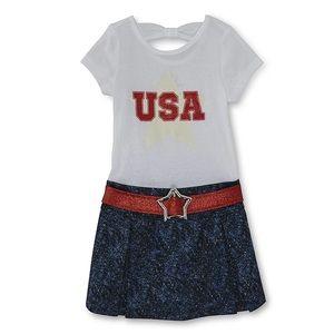 Girls USA BEAUTIFUL DRESS